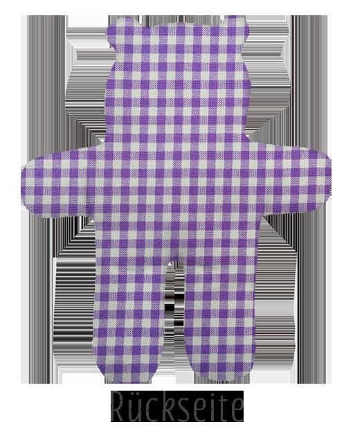 Karo klein Violett